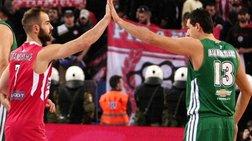 Βasket League: Απόψε τo μεγάλο ντέρμπι ΠΑΟ-Ολυμπιακού