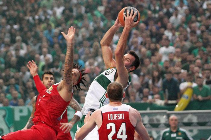 Μπάσκετ Α1: Παναθηναϊκός-Ολυμπιακός 73-69