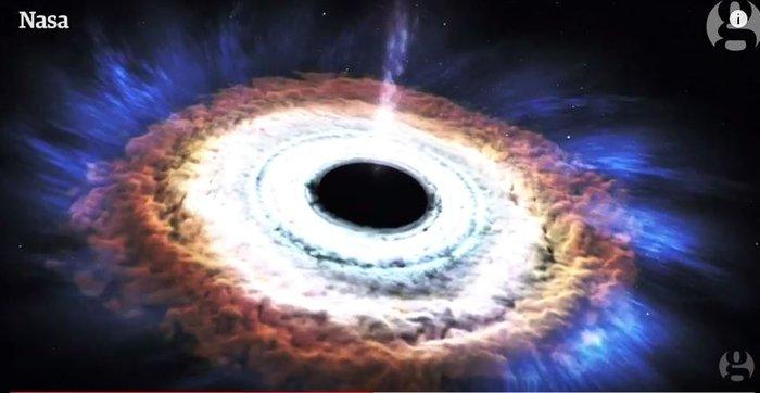 Το animation της NASA: Πώς μια μαύρη τρύπα «καταπίνει» αστέρι