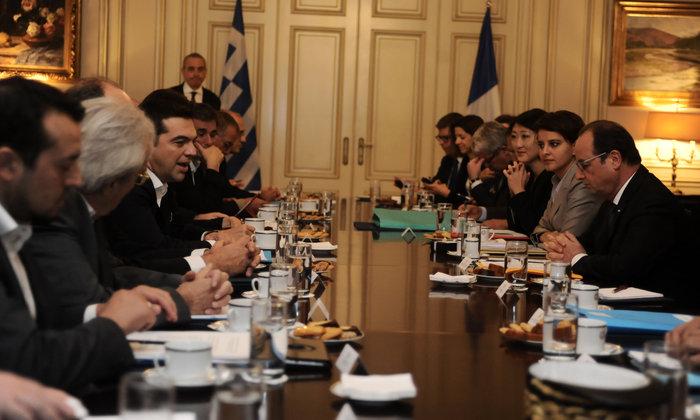 Ολάντ σε Τσίπρα: Ξέρω τι περνούν οι Έλληνες, είμαι στο πλευρό σας - εικόνα 7