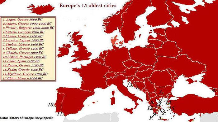 Ελληνικές οι 10 από τις 15 αρχαιότερες πόλεις της Ευρώπης! Δείτε ποιες (Photos)