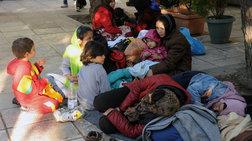 Χωρίς...άσυλο από το κρύο στην Πλατεία Βικτωρίας
