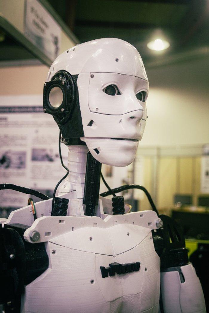 Ο 15χρονος Ελληνας μαθητής που κατασκευάζει ανθρωποειδή ρομπότ - εικόνα 2