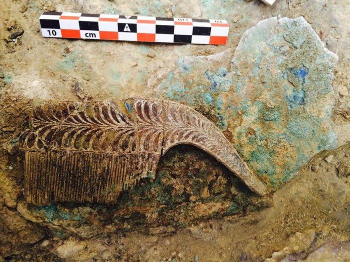 Ασύλητος τάφος πολεμιστή Μυκηναϊκής περιόδου ήρθε στο φως στην Πύλο