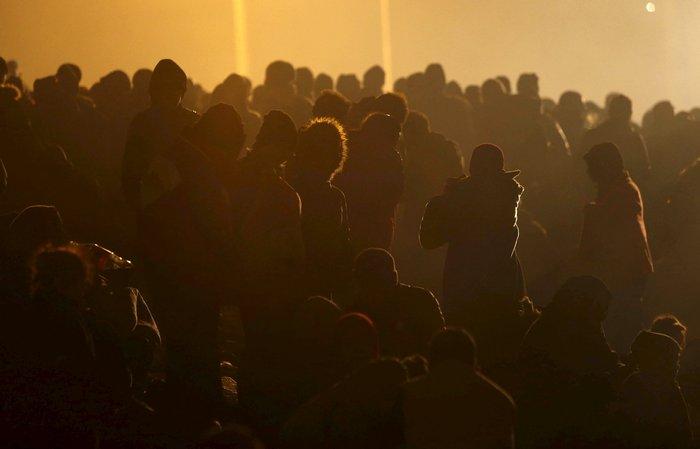 Χιλιάδες πρόσφυγες στα σύνορα Σλοβενίας - Αυστρίας - εικόνα 11