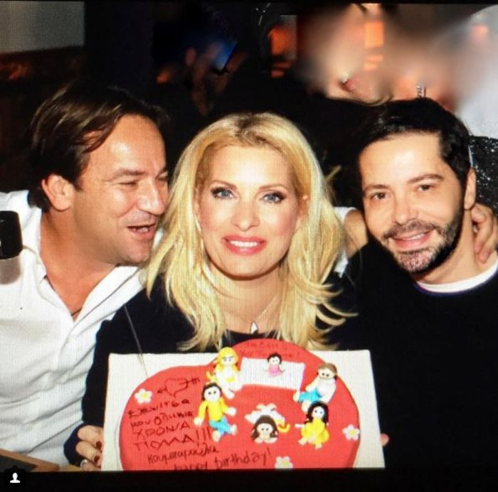 Στα γενέθλιά της Ελένης- Η τούρτα με τα... ζαχαρωτά παιδιά της!