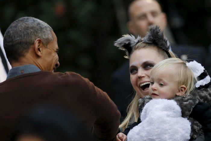 Το μωρό που έριξε τον Ομπάμα στα πατώματα - εικόνα 2