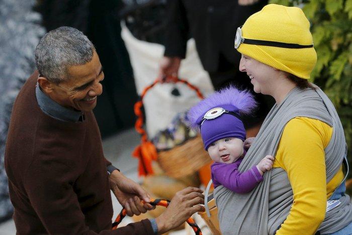 Το μωρό που έριξε τον Ομπάμα στα πατώματα - εικόνα 3