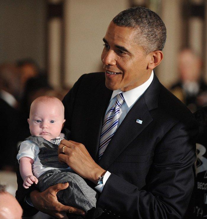Το μωρό που έριξε τον Ομπάμα στα πατώματα - εικόνα 7
