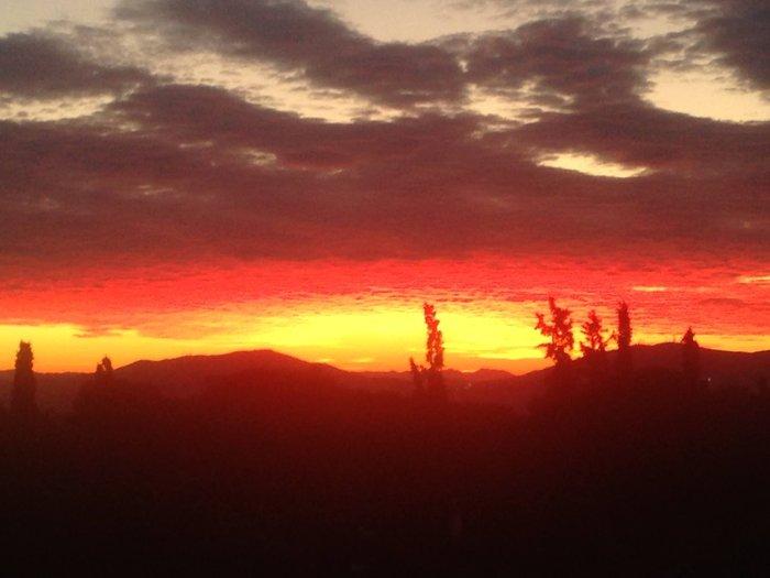 Οταν ένας ουρανός - πίνακας ζωγραφικής σκέπασε την Αθήνα [Εικόνες] - εικόνα 7