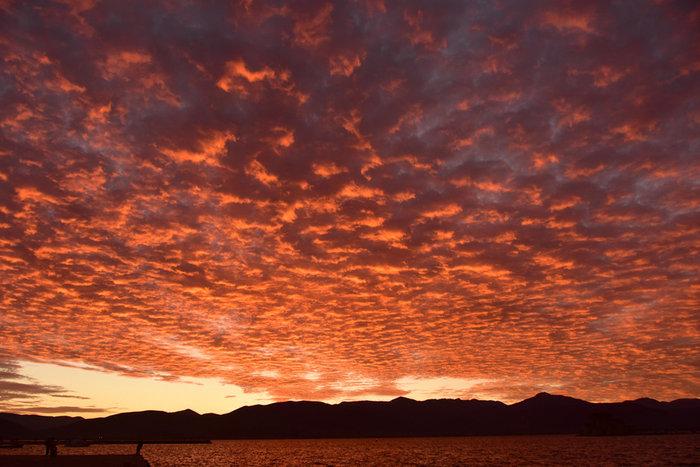 Οταν ένας ουρανός - πίνακας ζωγραφικής σκέπασε την Αθήνα [Εικόνες] - εικόνα 18