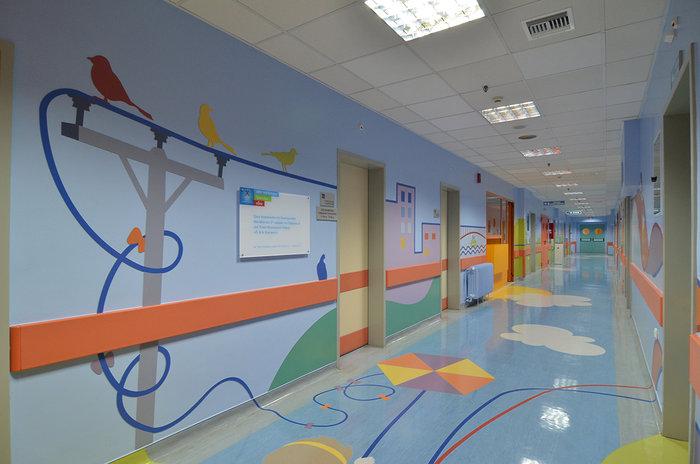 Εργο ζωής από ΟΠΑΠ: Ανακαίνισε δύο ορόφους στα Νοσοκομεία Παίδων της Αθήνας - εικόνα 8