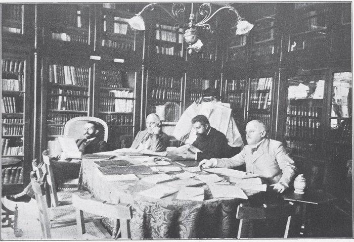 1896, το αναγνωστήριο