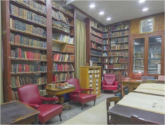 Η βιβλιοθήκη σήμερα
