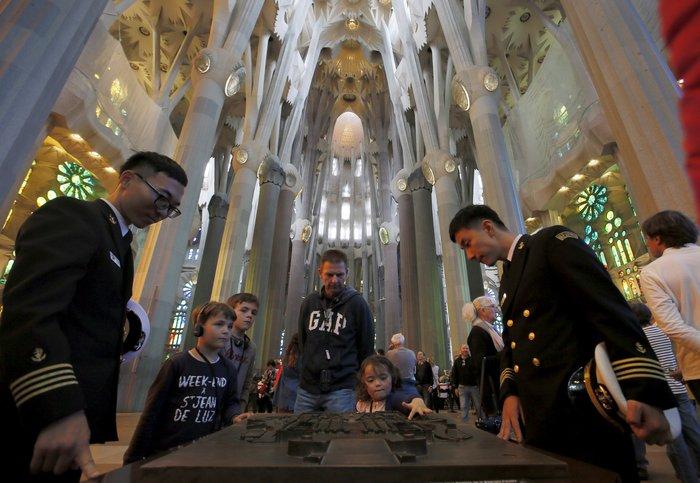 Η σημερινή εικόνα της Σαγράδα Φαμίλια - Reuters