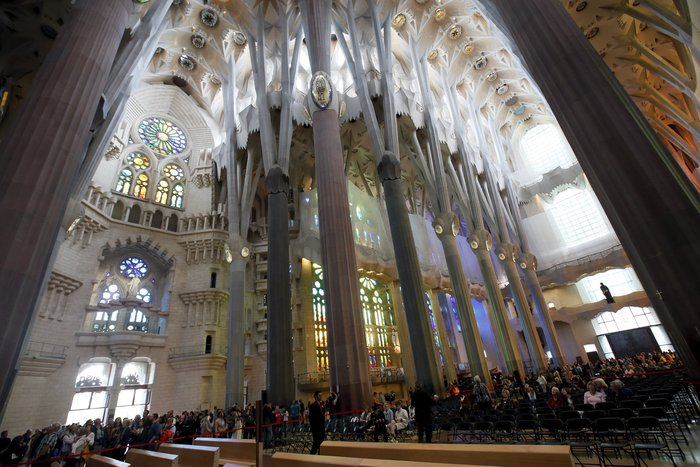 Η Σαγράδα Φαμίλια 132 χρόνια μετά - Reuters