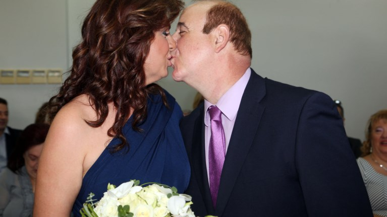 6ff5cb1e56a5 Παντρεύτηκε ο Παύλος Χαϊκάλης με τη Μαρία Λύκου-Οι φωτογραφίες του γάμου