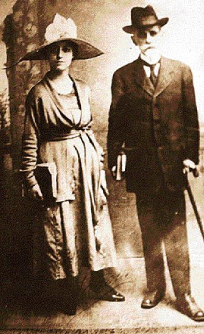 Λιλή Ιακωβίδη, Κωστής Παλαμάς