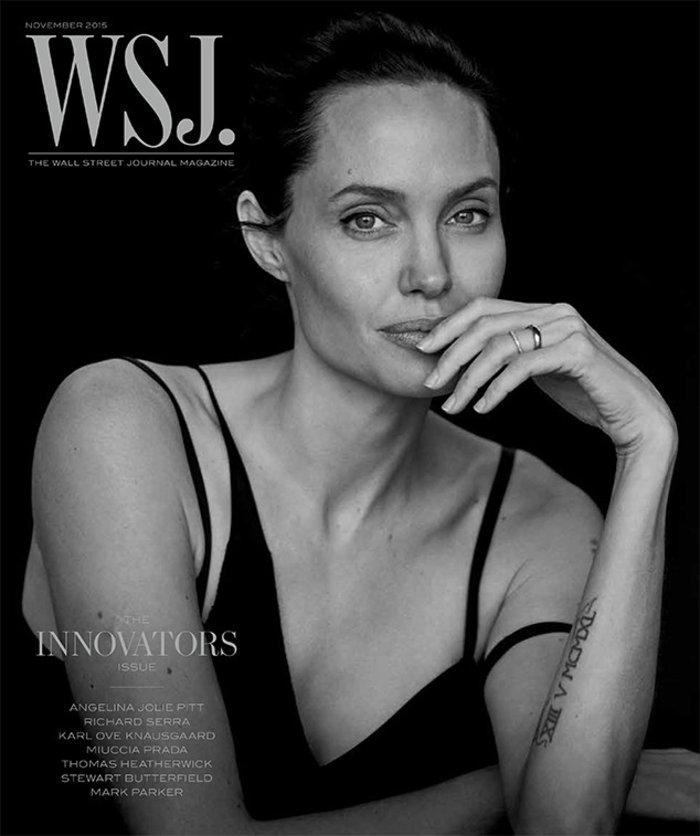 WSJ: Η Αντζελίνα Τζολί πίστευε ότι θα έχει πεθάνει μέχρι τα 40