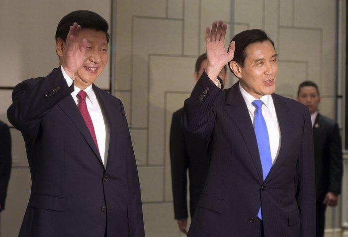 Ιστορική χειραψία των ηγετών της Κίνας και της Ταϊβάν - ΒΙΝΤΕΟ - εικόνα 2