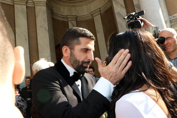 Ο Θανάσης Βισκαδουράκης παντρεύτηκε την Κατερίνα του - όλα όσα έγιναν - εικόνα 4