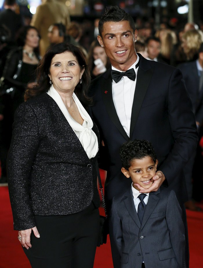 Ο Ρονάλντο στο κόκκινο χαλί για την ταινία της ζωής του