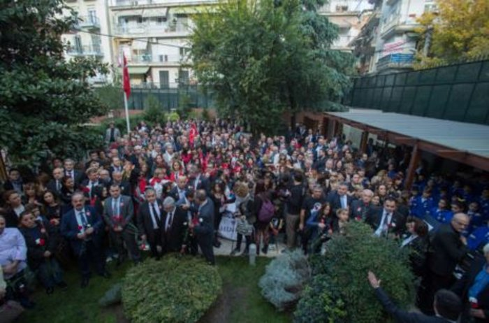 Προσκύνημα Τούρκων στο σπίτι του Κεμάλ στη Θεσσαλονίκη - εικόνα 4