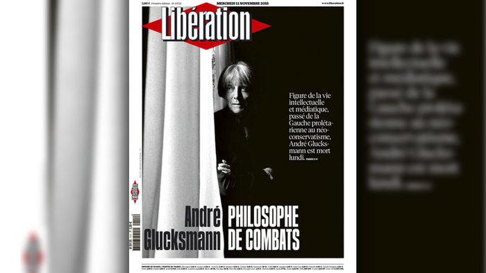 Το «αντίο» της Liberation στον Αντρέ Γκλικσμάν