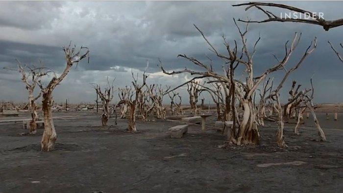 Πόλη φάντασμα «πνιγμένη» για 25 χρόνια, αναδύεται ξανά - εικόνα 6