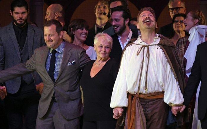 Κένεθ Μπράνα-Τζούντι Ντεντς το ζευγάρι του χειμώνα στο θεατρικό Λονδίνο - εικόνα 3