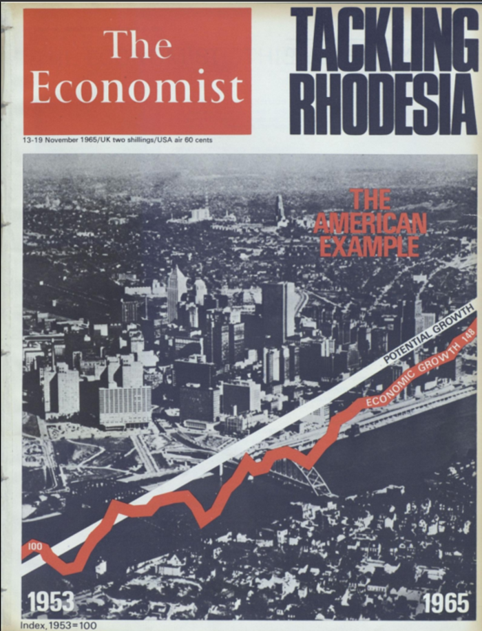 50 χρόνια ιστορίας μέσα από τα εξώφυλλα του Economist