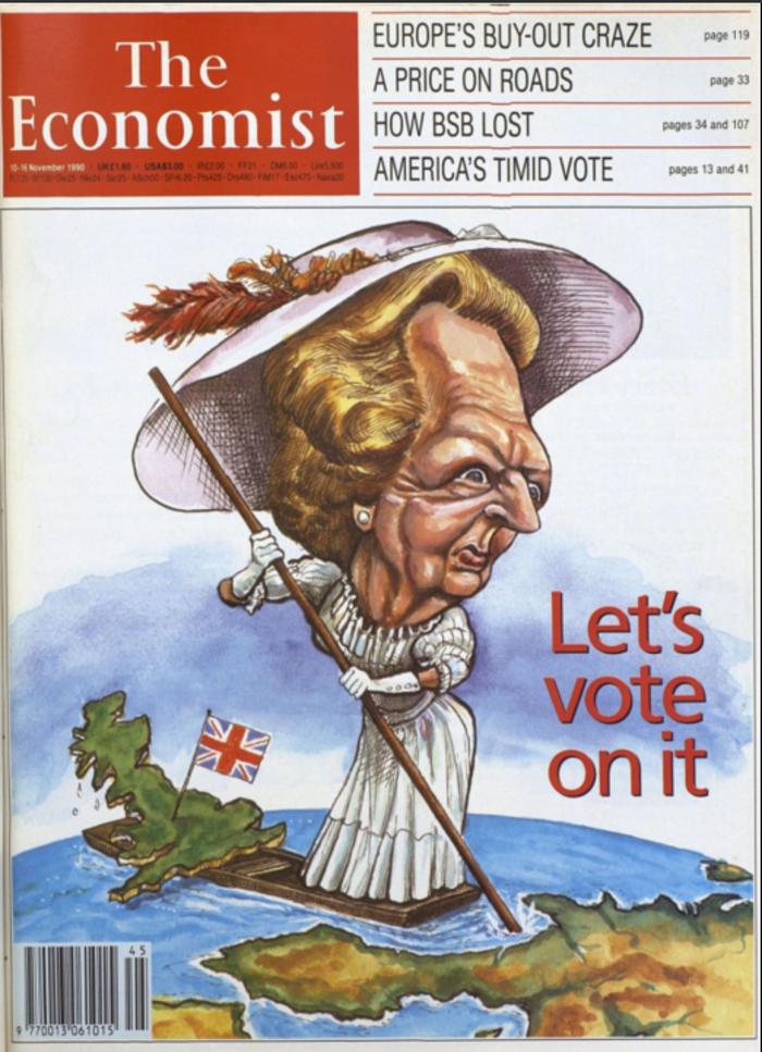 50 χρόνια ιστορίας μέσα από τα εξώφυλλα του Economist - εικόνα 2