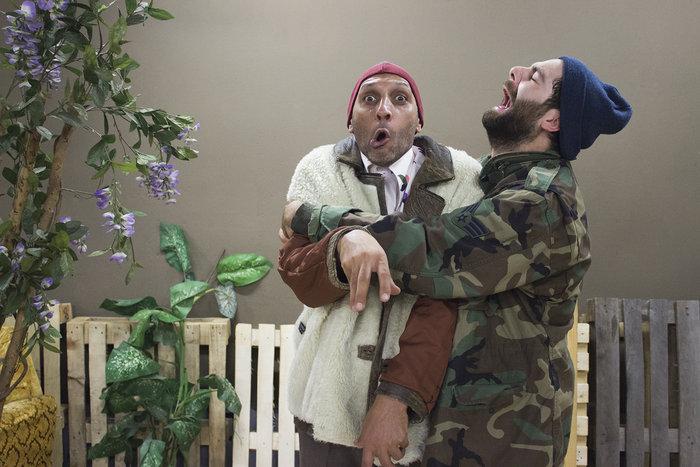 Στο Θέατρο Κωφών έκαναν μια παράσταση για τους άστεγους