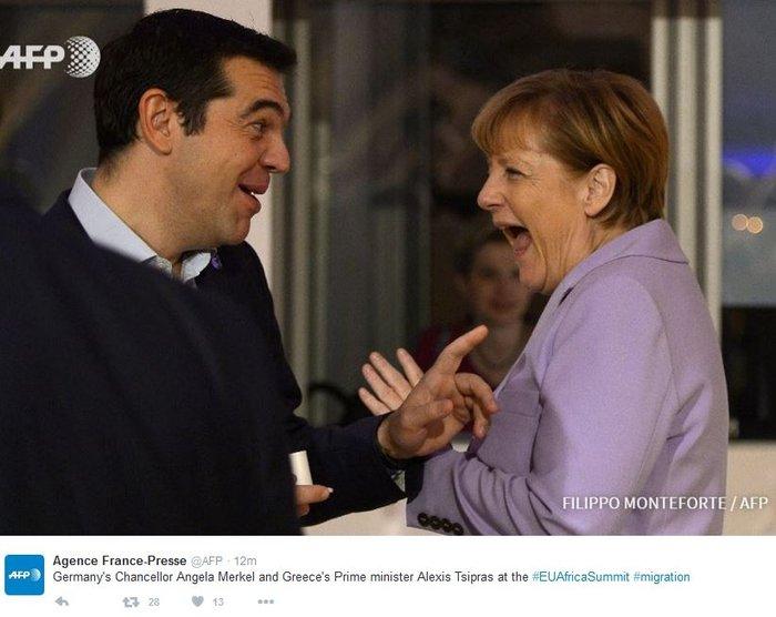 Γιατί Τσίπρας-Μέρκελ έσκασαν στα γέλια στη Μάλτα - εικόνα 2