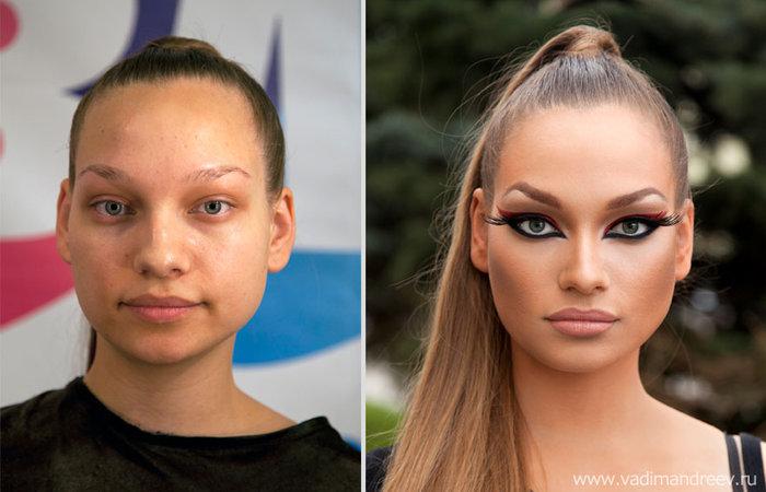 Πριν και μετά το μακιγιάζ: 18 απίστευτες μεταμορφώσεις - εικόνα 2