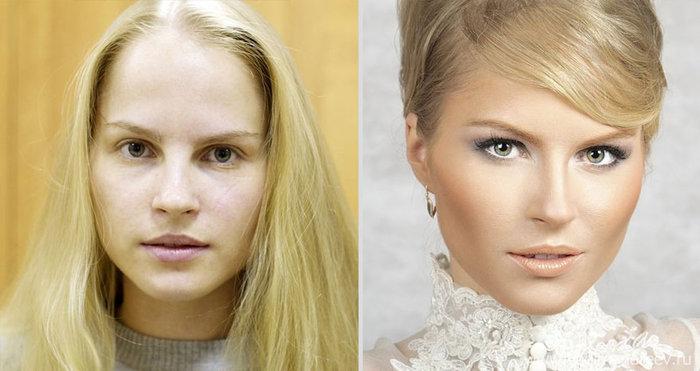 Πριν και μετά το μακιγιάζ: 18 απίστευτες μεταμορφώσεις - εικόνα 3