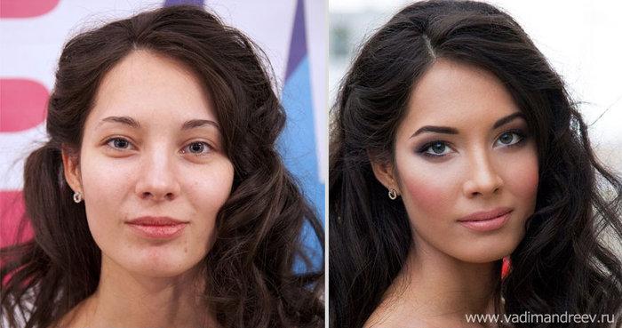 Πριν και μετά το μακιγιάζ: 18 απίστευτες μεταμορφώσεις - εικόνα 5