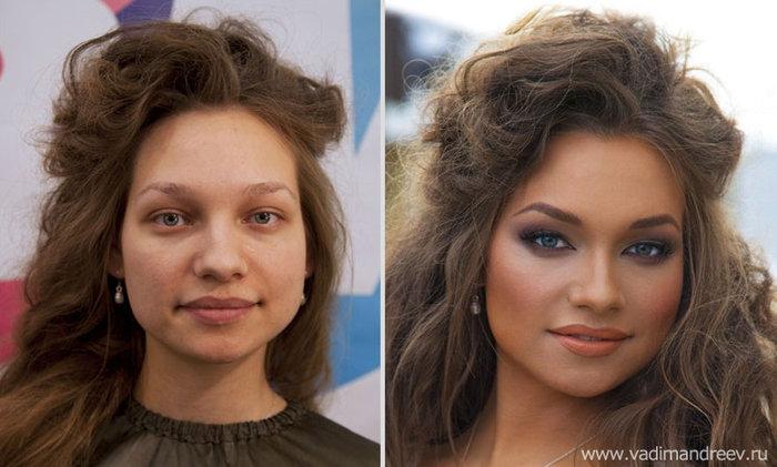 Πριν και μετά το μακιγιάζ: 18 απίστευτες μεταμορφώσεις - εικόνα 6