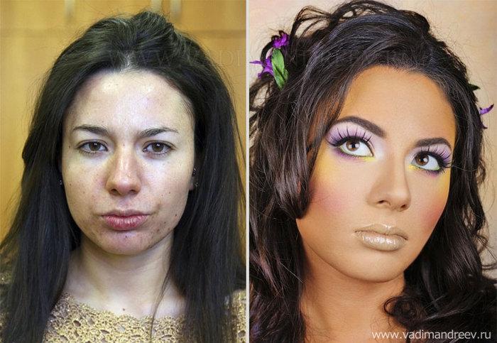 Πριν και μετά το μακιγιάζ: 18 απίστευτες μεταμορφώσεις - εικόνα 7
