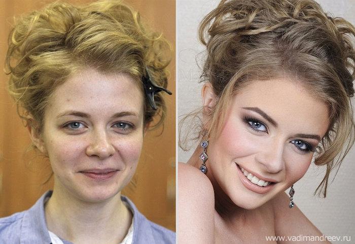 Πριν και μετά το μακιγιάζ: 18 απίστευτες μεταμορφώσεις - εικόνα 8