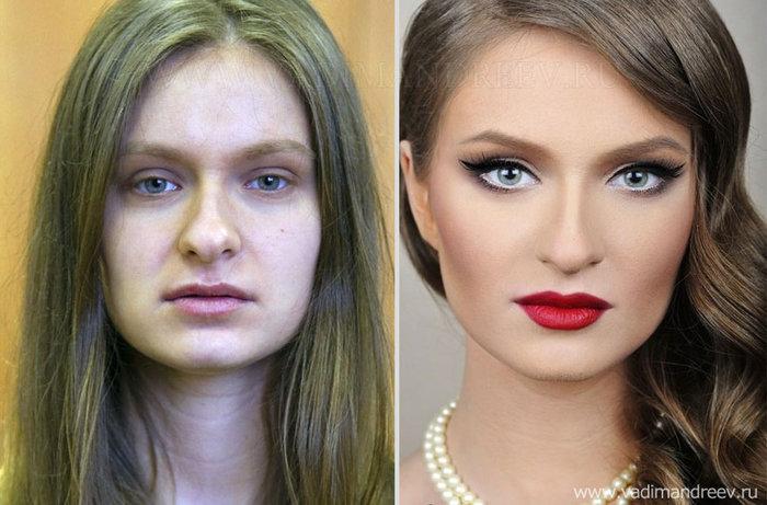 Πριν και μετά το μακιγιάζ: 18 απίστευτες μεταμορφώσεις - εικόνα 9