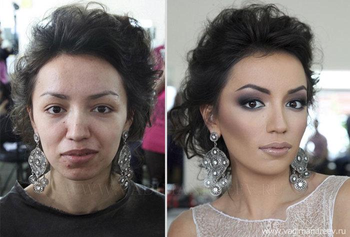 Πριν και μετά το μακιγιάζ: 18 απίστευτες μεταμορφώσεις - εικόνα 10