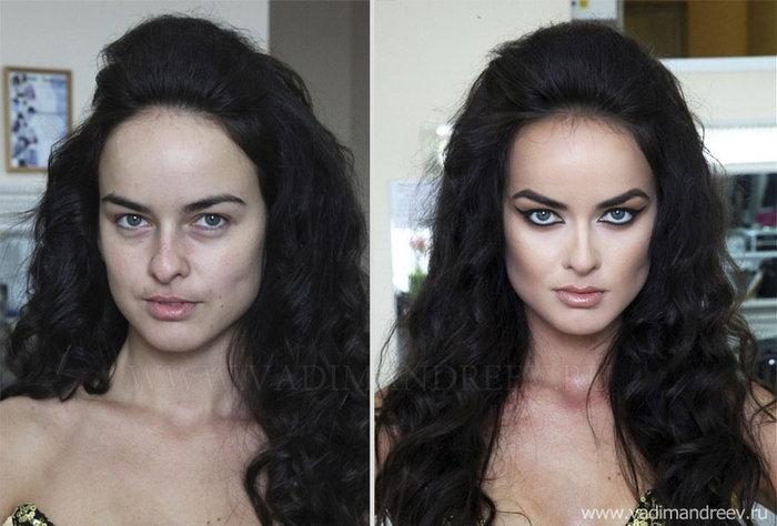 Πριν και μετά το μακιγιάζ: 18 απίστευτες μεταμορφώσεις - εικόνα 11