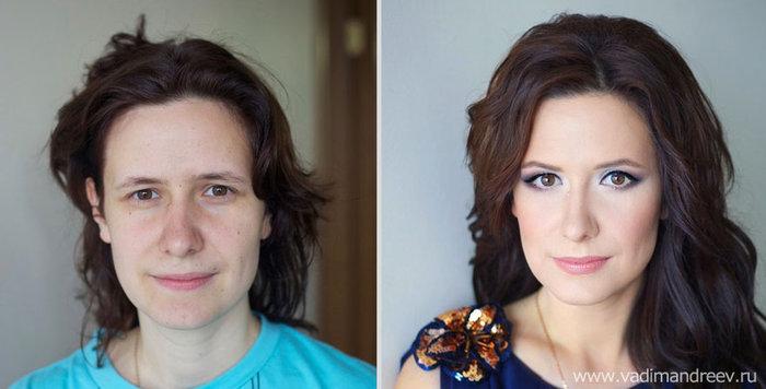 Πριν και μετά το μακιγιάζ: 18 απίστευτες μεταμορφώσεις - εικόνα 12