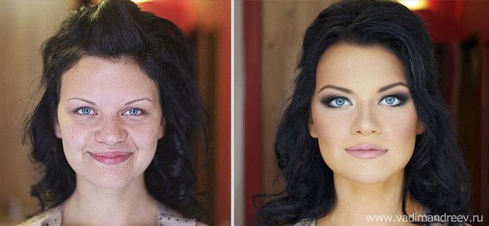 Πριν και μετά το μακιγιάζ: 18 απίστευτες μεταμορφώσεις - εικόνα 13