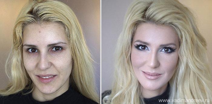 Πριν και μετά το μακιγιάζ: 18 απίστευτες μεταμορφώσεις - εικόνα 15
