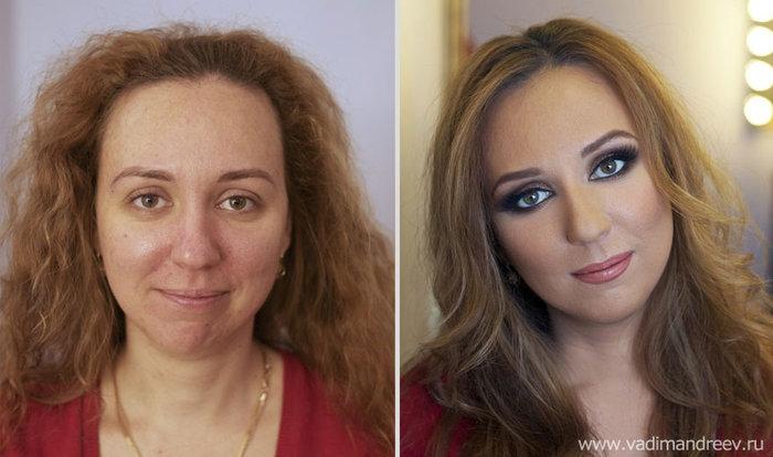 Πριν και μετά το μακιγιάζ: 18 απίστευτες μεταμορφώσεις - εικόνα 17