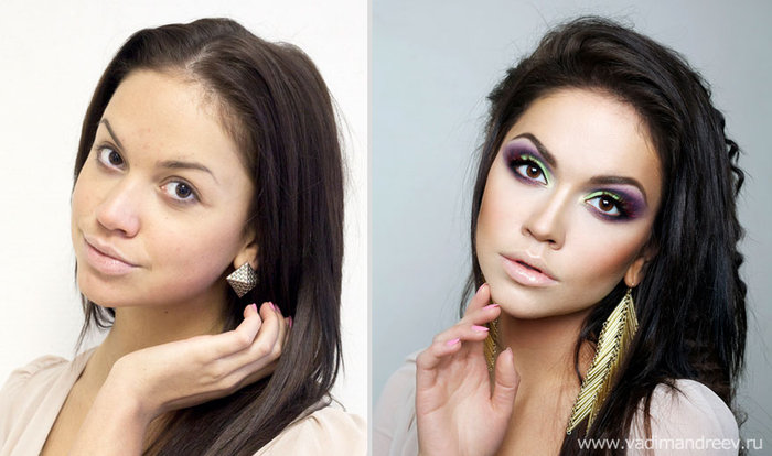 Πριν και μετά το μακιγιάζ: 18 απίστευτες μεταμορφώσεις - εικόνα 18