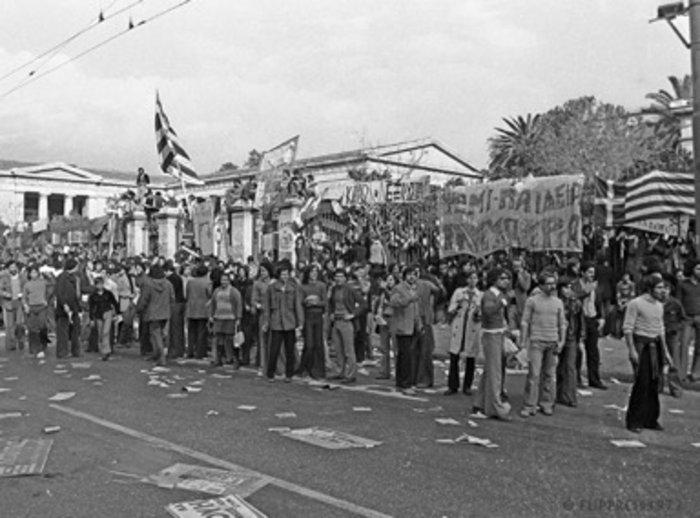 «Τη μέρα που κάλυψα το Πολυτεχνείο»:Ντοκουμέντα από το αρχείο Κοντογεώργου - εικόνα 10