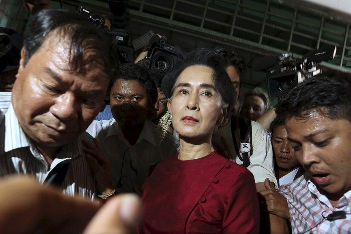 Μιανμάρ: Ιστορική νίκη της Αούνγκ Σαν Σου Κι